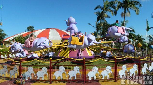 Baby-elefante - Parque Beto Carrero World Penha/SC