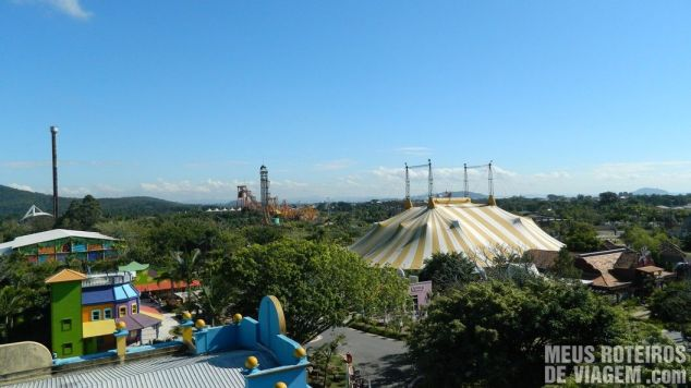 Teleférico - Parque Beto Carrero World Penha/SC