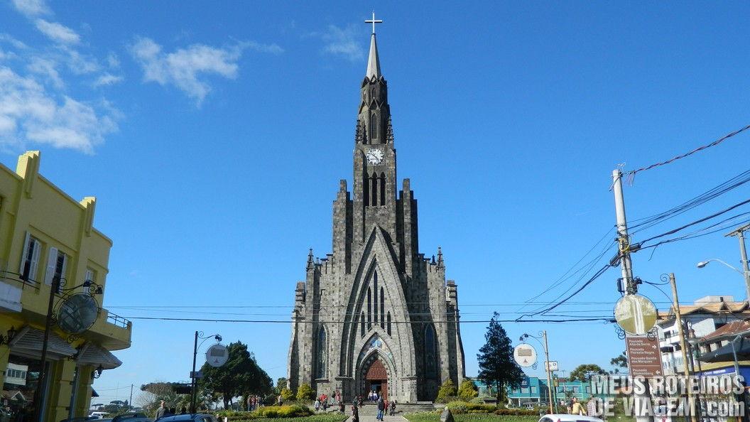 Paróquia de Canela - Catedral de Pedra