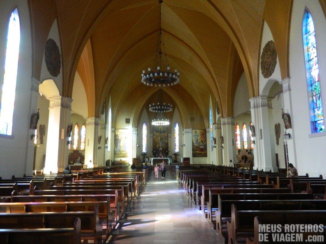 Interior da Catedral de Canela
