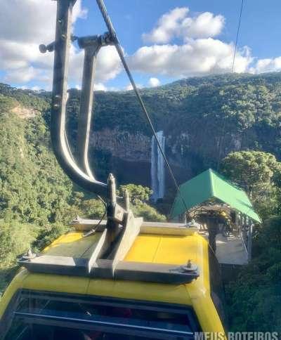 Bondinhos Aéreos Parques da Serra em Canela