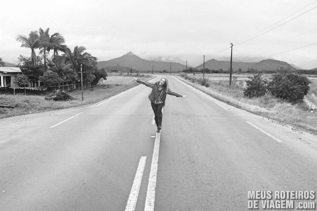 As estradas são pavimentadas e bem sinalizadas até a Serra do Faxinal