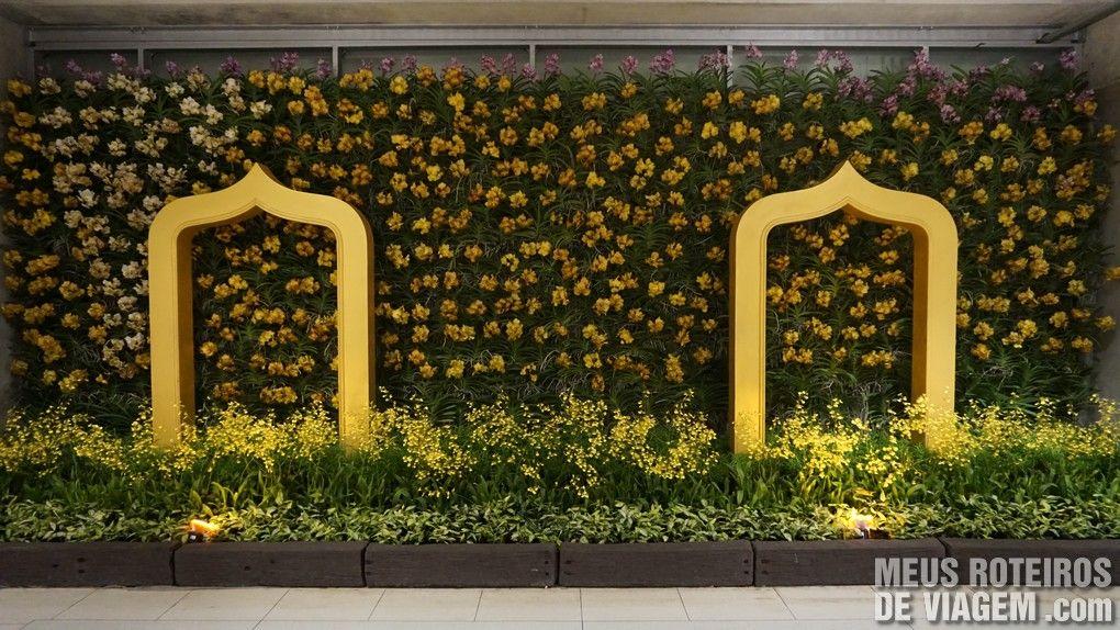 Decoração no Aeroporto Internacional de Bangkok - Suvarnabhumi