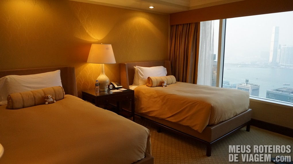 "Quarto ""Twin Executive Harbour View Room"" - Hotel Conrad Hong Kong"