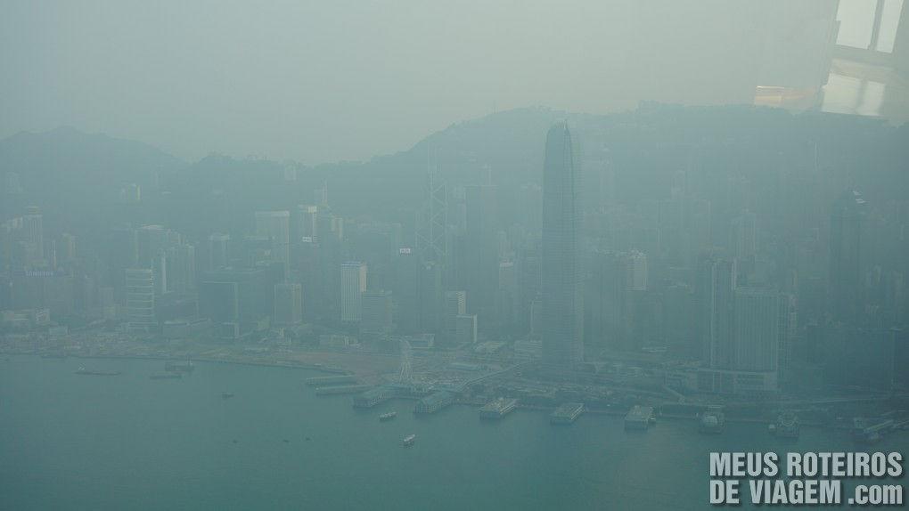 Vista para a Ilha de Hong Kong