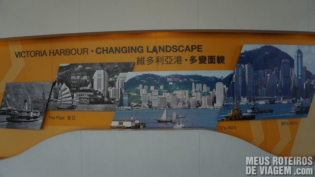 Fotos antigas da baía de Hong Kong