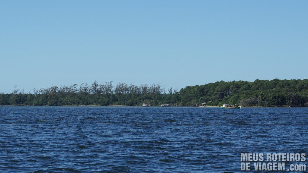 Terminal de barcos no bairro Rio Vermelho - Florianópolis
