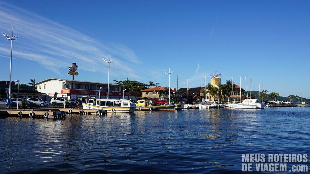 Marina no centrinho da Lagoa da Conceição - Floripa