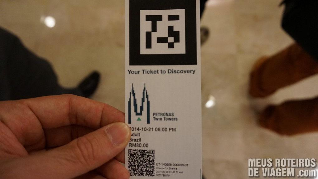 Ticket de acesso