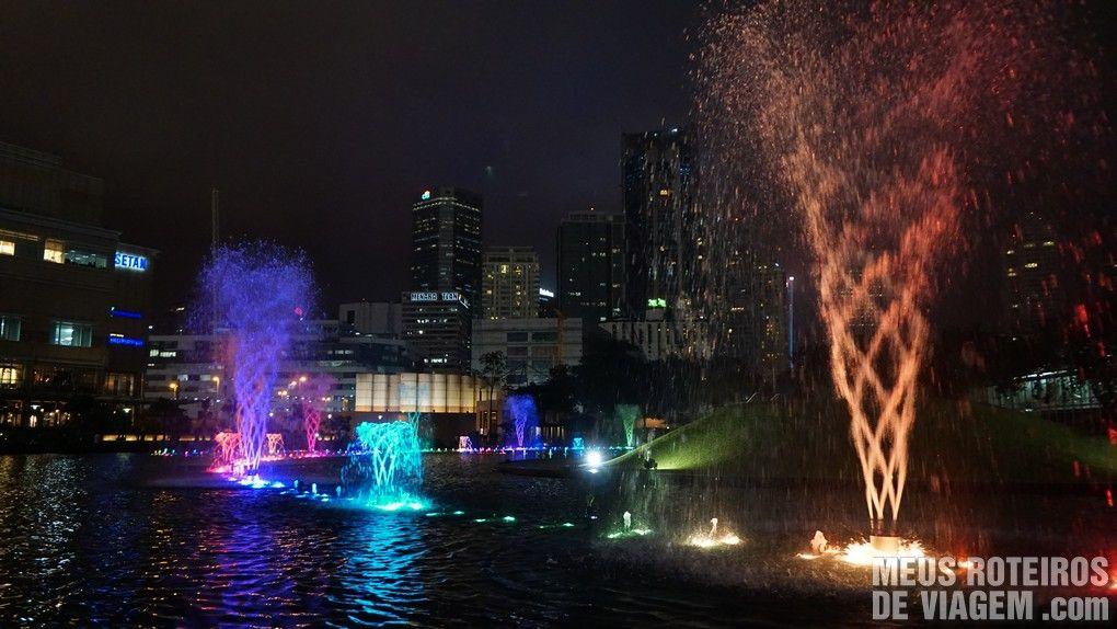 Fonte no KLCC Park - Kuala Lumpur, Malásia