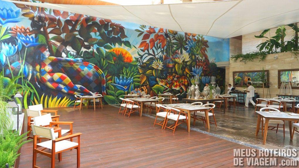 Restaurante do Hotel Cacao - Playa del Carmen, Mexico