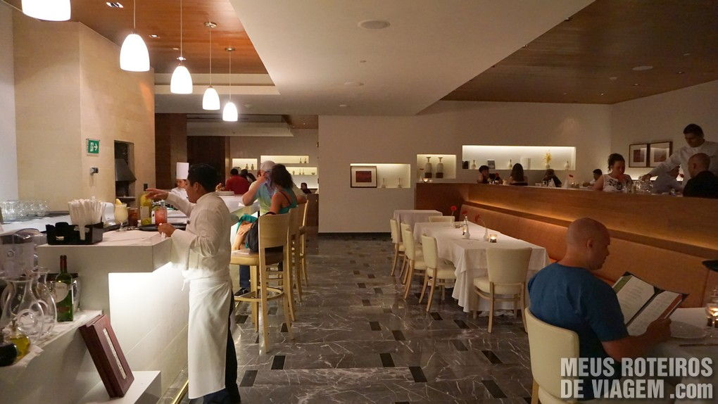 Restaurante do Hotel Secrets The Vine Cancun