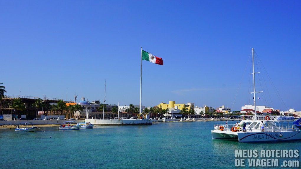 Centrinho da Ilha de Cozumel - México