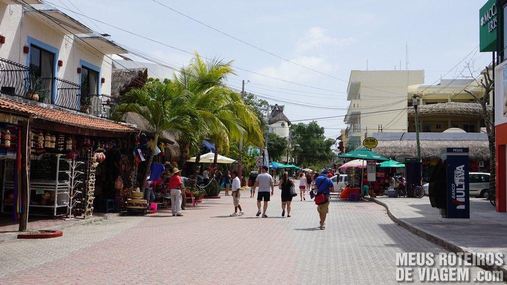 Quinta Avenida - Playa del Carmen, México