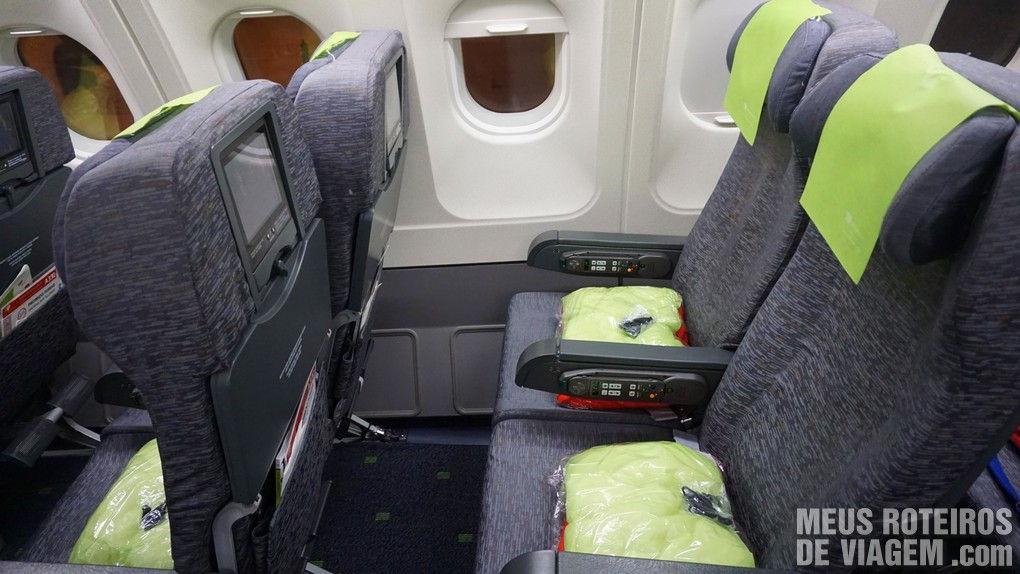 Poltronas do A330 - TAP Portugal