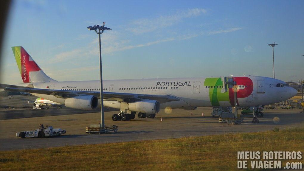 A330 da TAP no Aeroporto de Lisboa