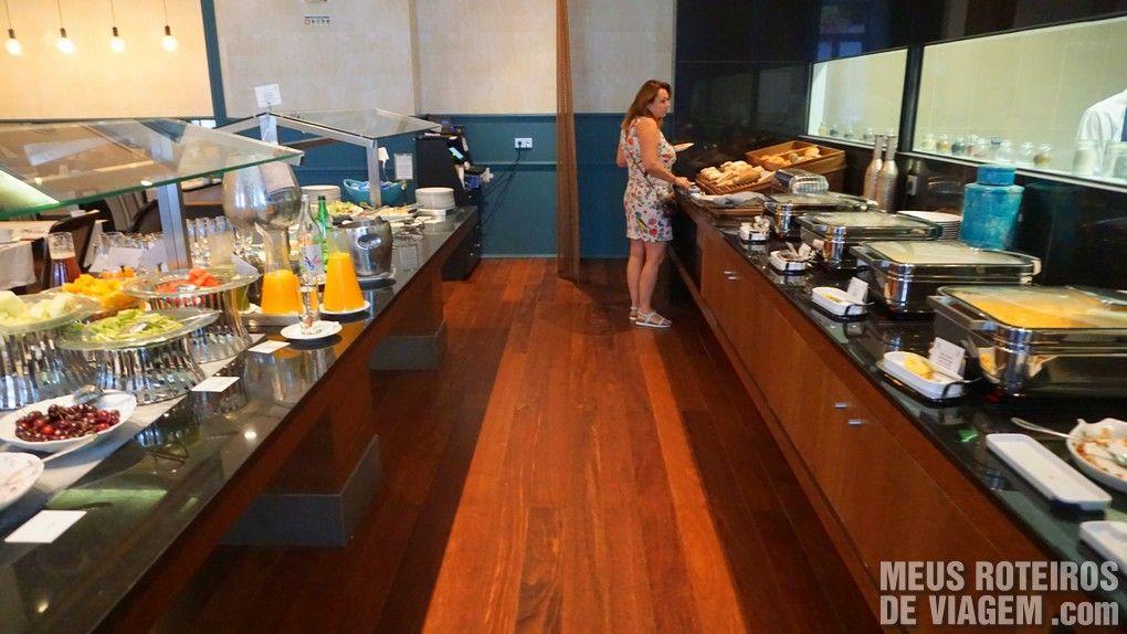 Café da manhã no Hotel Porto Bay Liberdade - Lisboa, Portugal