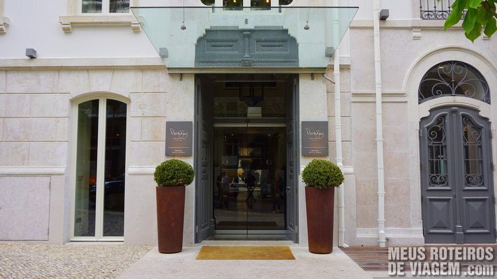 Entrada do hotel Porto Bay Liberdade - Lisboa, Portugal