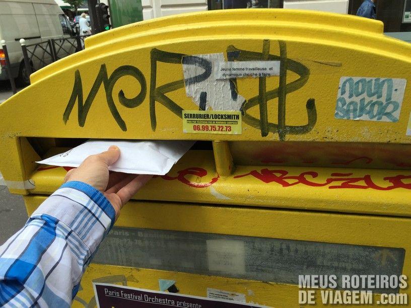 Caixa de correio de Paris