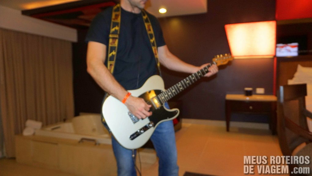 Guitarra no Hard Rock Hotel & Casino Punta Cana
