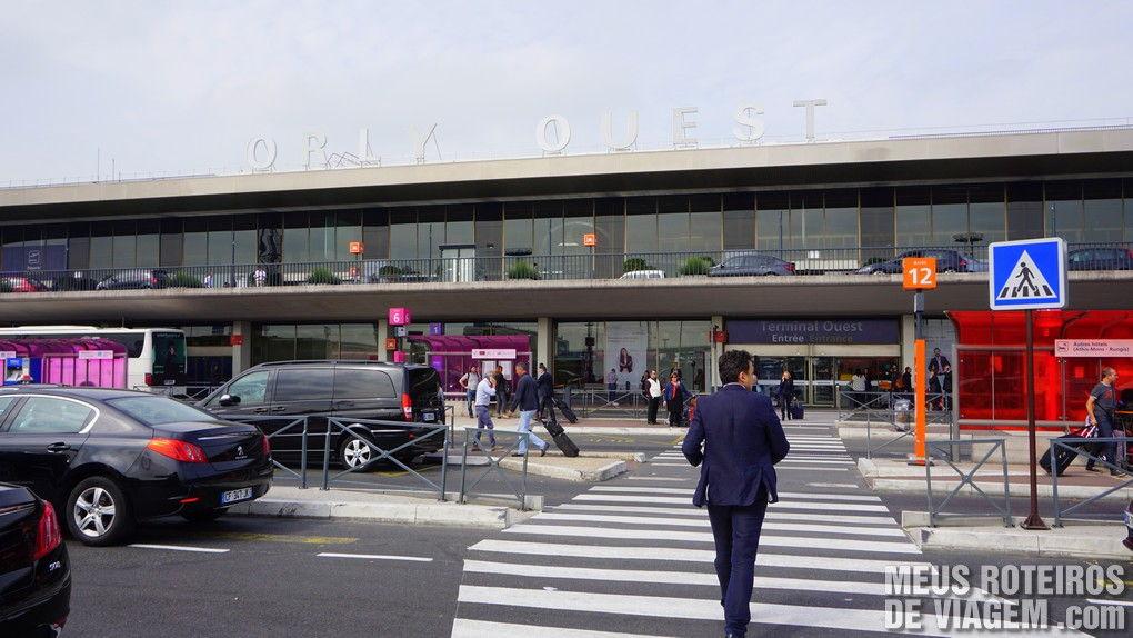 Terminal Ouest (oeste) no Aeroporto de Paris-Orly