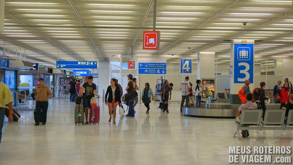 Desembarque do Terminal Ouest - Aeroporto de Paris-Orly