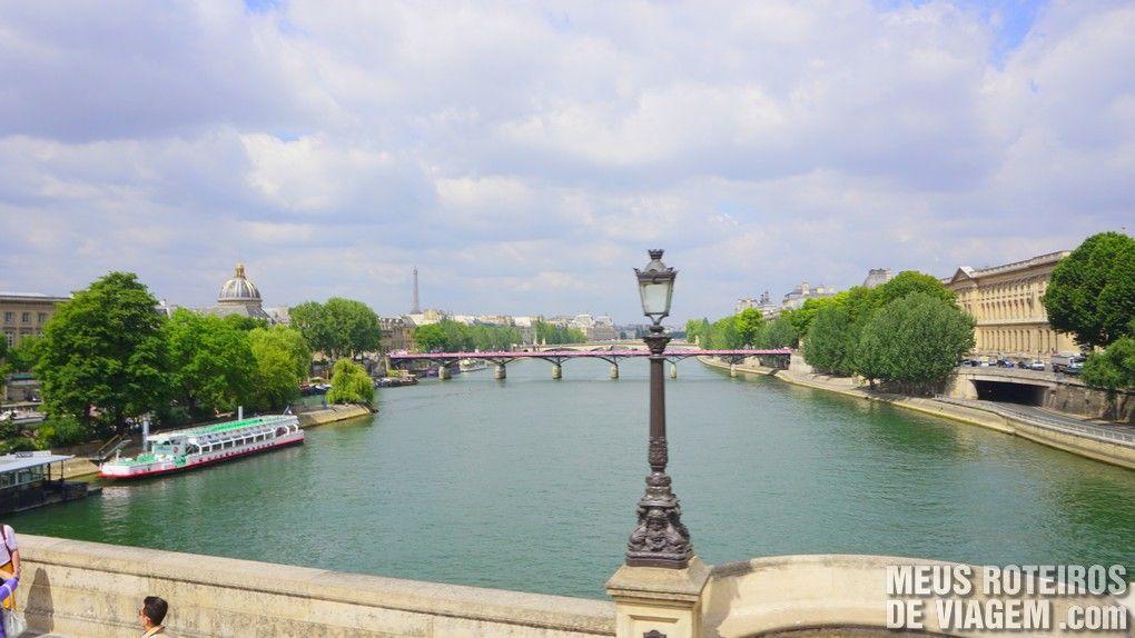 Rio Sena - Paris, França