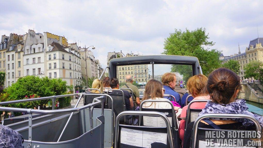 Ônibus panorâmico Big Bus Paris