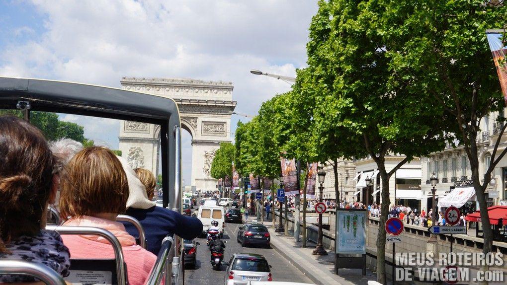 Ônibus turístico Big Bus Paris