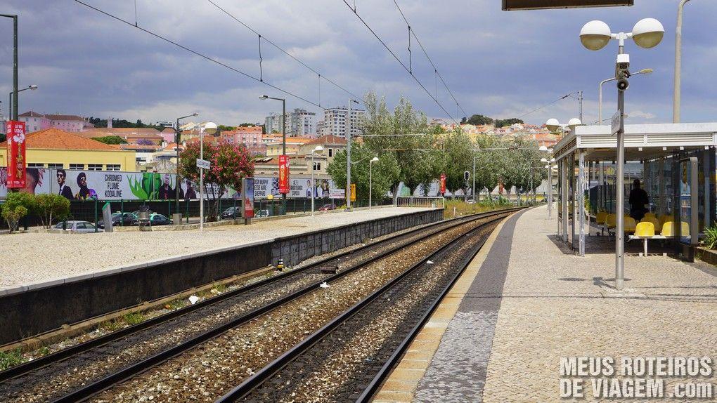 Estação Alcântara-Mar - Lisboa, Portugal