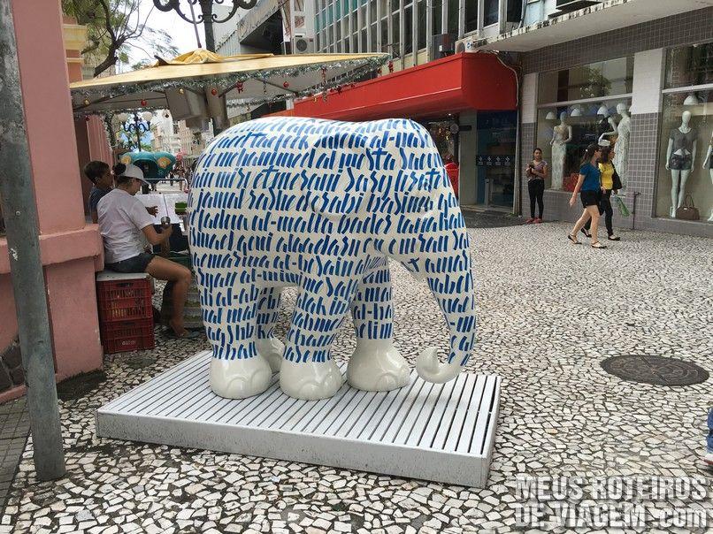 """""""Elefante da Paz"""", por Marcel Ferreira e Renan Visotto"""