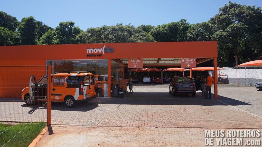 Loja da Movida próxima ao aeroporto de Foz do Iguaçú
