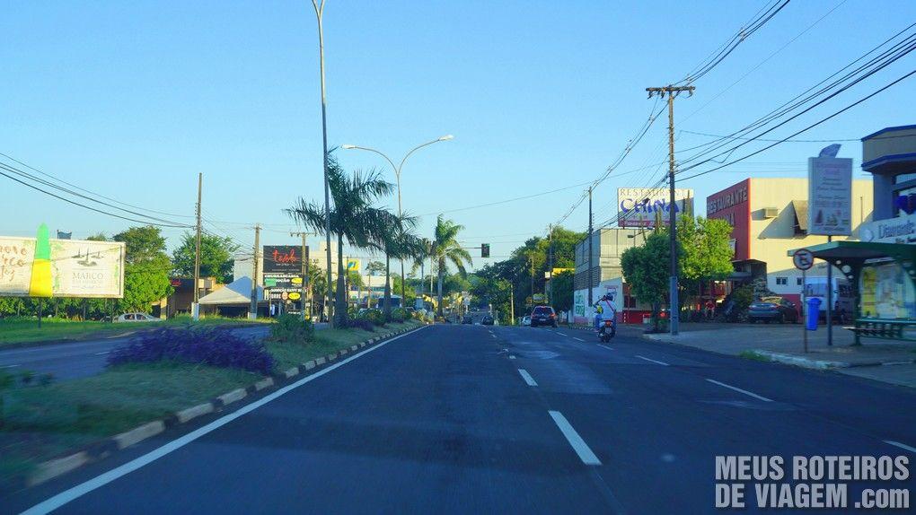 Avenida de Foz do Iguaçú