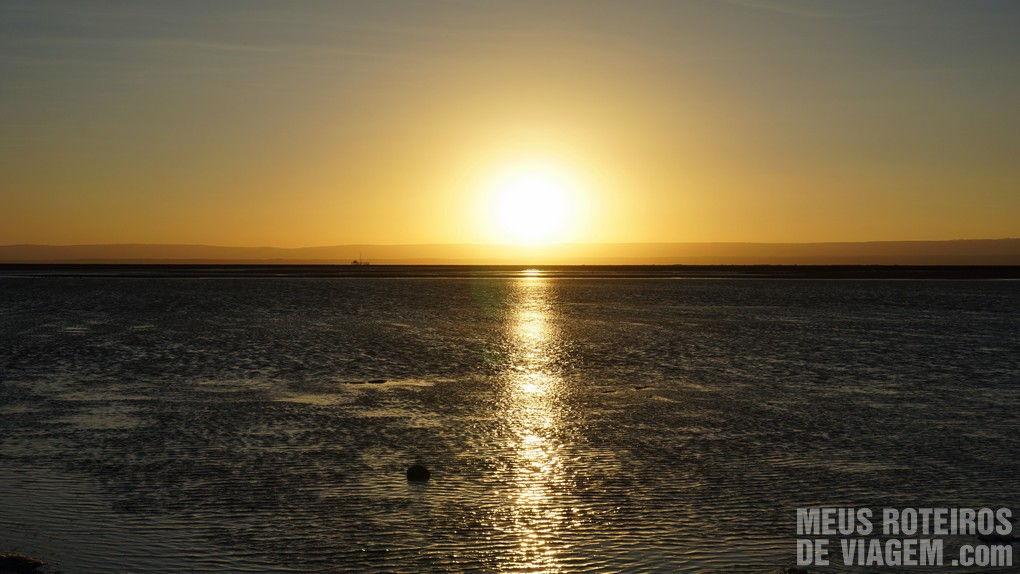 Por do sol no Salar do Atacama - Agência Araya Atacama