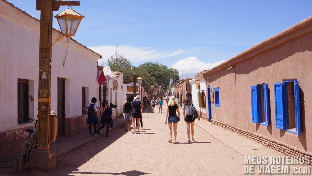 Rua Caracoles - San Pedro de Atacama, Chile