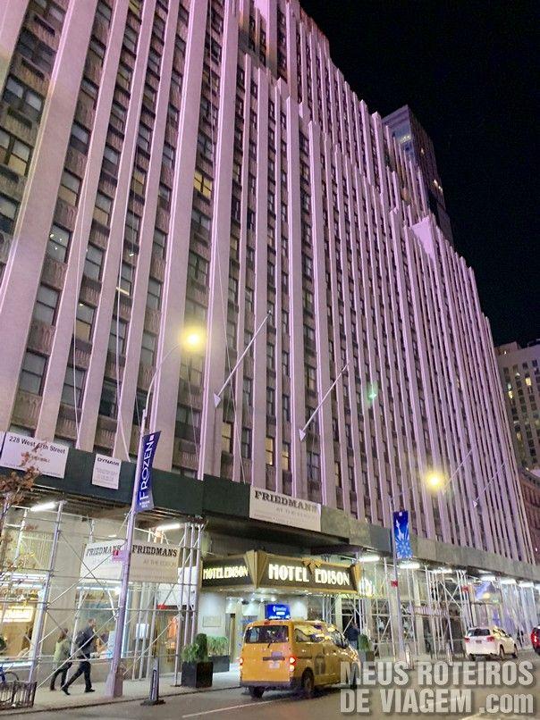 Edifício do Hotel Edison Times Square - Nova York