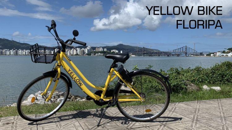 Yellow Bike em Floripa