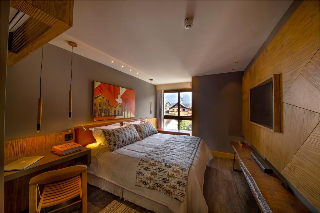 Quarto do Hotel Wood Gramado