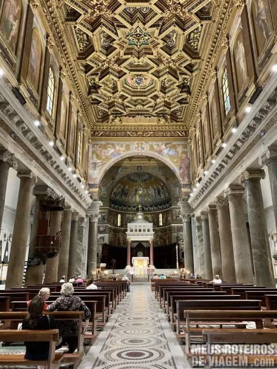 Basilica di Santa Maria in Trastevere, Roma