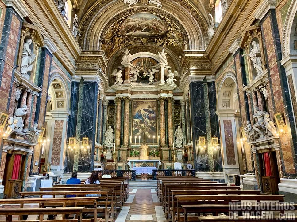Chiesa di Gesu e Maria - Roma
