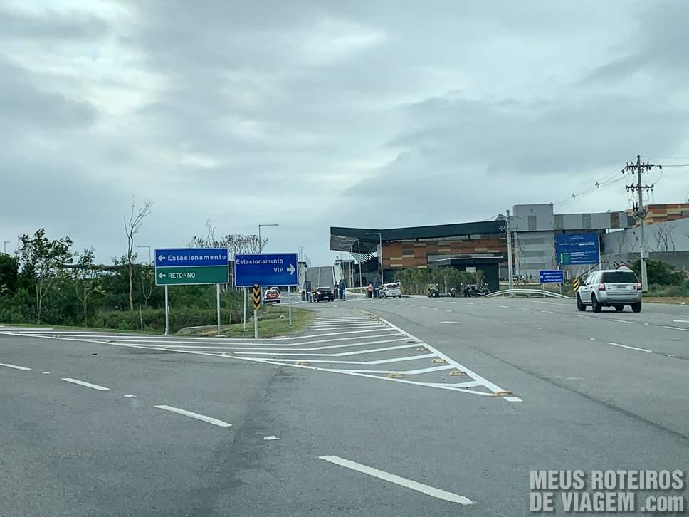Acesso ao Floripa Airport