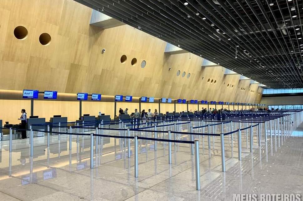 Check-in do Novo Aeroporto de Florianópolis