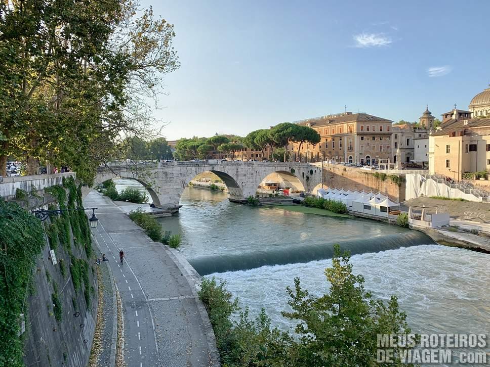 Ponte Palatino e Rio Tibre