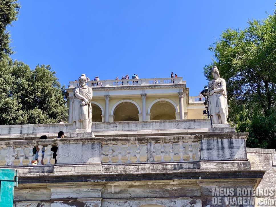 Terraza del Pincio - Roma