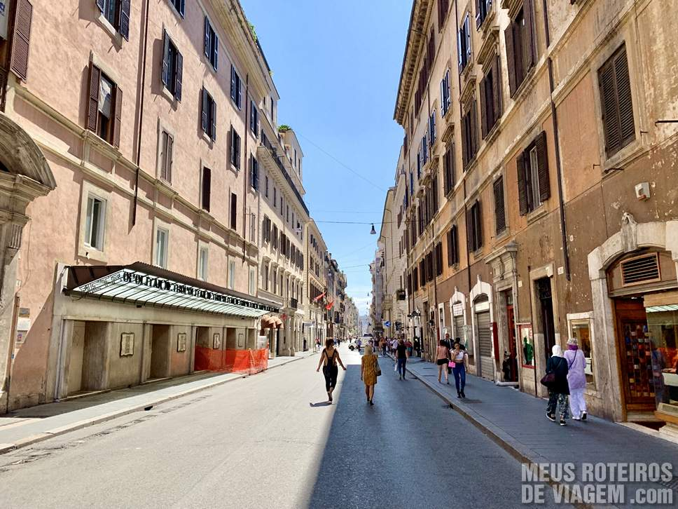 Via del Corso - Roma