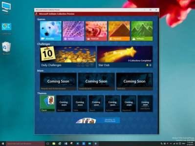 Microsoft Solitaire no Windows 10