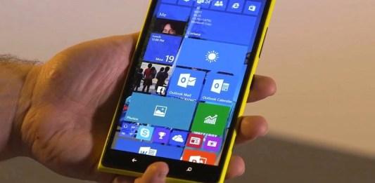 Windows 10 para telefones