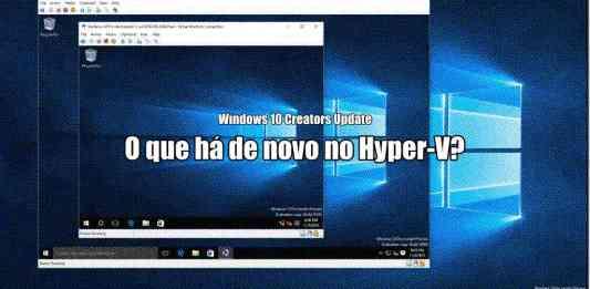 Hyper-V para Windows 10 Creators Update