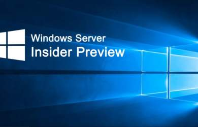 Windows Server Insider Preview