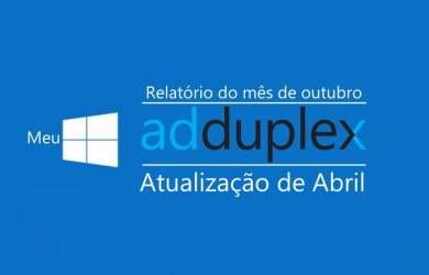 AdDuplex: 1803 continua sendo a versão mais usada do Windows 10 1